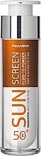 Düfte, Parfümerie und Kosmetik Sonnenschutzfluid für das Gesicht SPF 50+ - Frezyderm Sun Screen Vitamin D Like Skin Benefits Fluid to Powder SPF50+