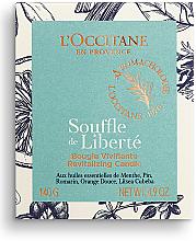 Duftkerze im Glas Souffle de Liberté - L'Occitane Revitalizing Candle Breath Of Freedom — Bild N1