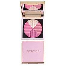 Düfte, Parfümerie und Kosmetik Kompaktrouge Quartett - Makeup Revolution Opulence Compact Blush