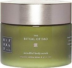 Düfte, Parfümerie und Kosmetik Körperpeeling mit weißem Lotus und Hiobstränensamen - Rituals The Ritual of Dao Body Scrub