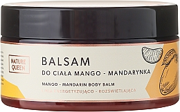 Düfte, Parfümerie und Kosmetik Körperbalsam Mango & Mandarine - Nature Queen Body Balm
