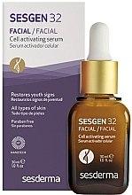 Düfte, Parfümerie und Kosmetik Anti-Aging zellaktivierendes Gesichtsserum - SesDerma Laboratories Sesgen 32 Cell Activating Serum