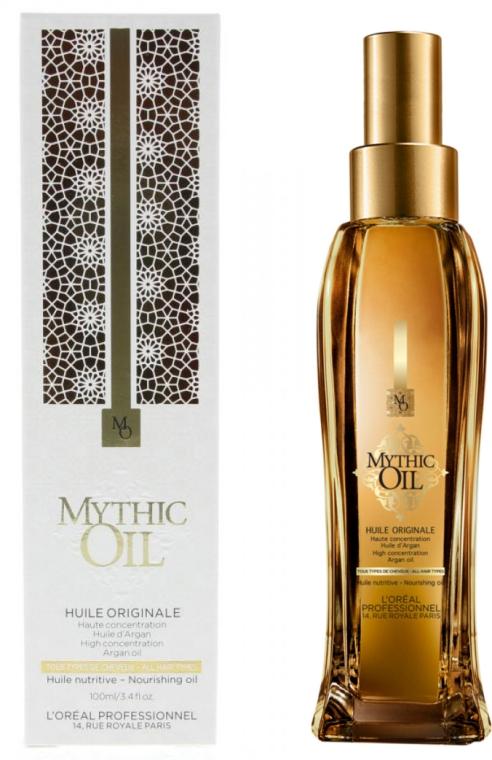 Pflegendes Haaröl mit Argan - L'Oreal Professionnel Mythic Oil Original Oil — Bild N1