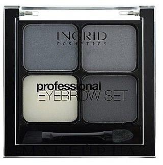 Augenbrauen-Make-up - Ingrid Cosmetics Eyebrow Set — Bild N1