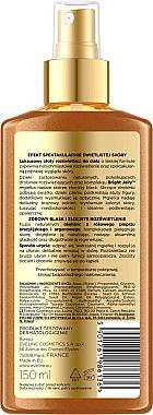 Highlighter für Körper mit Pfeffer- und Arganöl 5in1 - Eveline Cosmetics Brazilian Body Luxury Golden Body — Bild N2
