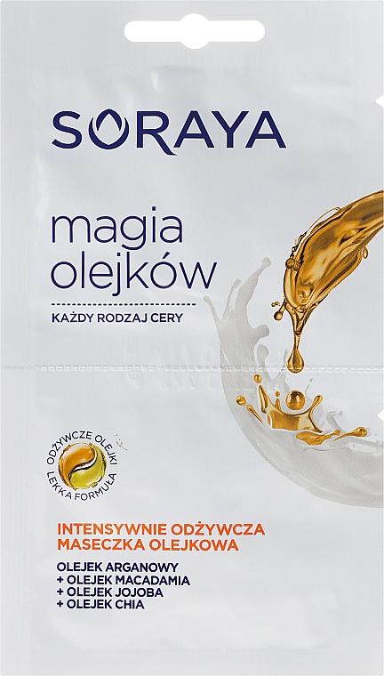 Gesichtsmaske mit Argan-, Macadamia und Jojobaöl - Soraya Magic Of Oils Intensively Nourishing Oil Mask — Bild N1