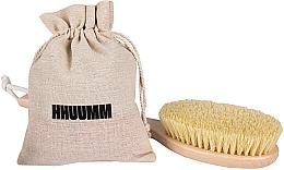 Düfte, Parfümerie und Kosmetik Verlängerte Massagebürste für den Körper mit Borsten aus Tampico-Fibre - Hhuumm № 5