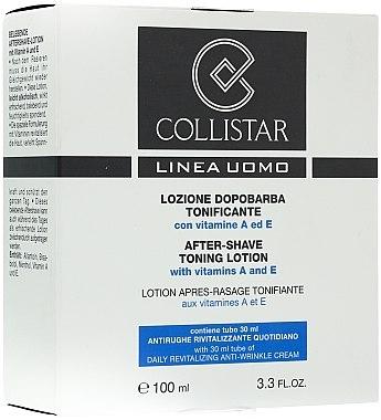 Gesichtspflegeset für Männer - Collistar (After Shave Lotion 100ml + Gesichtscreme 30ml) — Bild N1