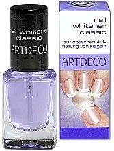 Düfte, Parfümerie und Kosmetik Nagellack zur optischen Aufhellung von Nageln - Artdeco Nail Whitener Classic