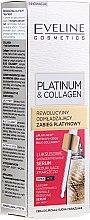Düfte, Parfümerie und Kosmetik Gesichtsserum - Eveline Platinum & Collagen Luxury Concentrated Wrinkle Reducing Serum