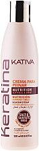 Düfte, Parfümerie und Kosmetik Haarcreme für jeden Haartyp mit Keratin - Kativa Keratina Styling Cream