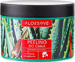 Düfte, Parfümerie und Kosmetik Körperpeeling mit Bio Aloe Vera Gel - Aloesove