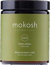 Düfte, Parfümerie und Kosmetik Gesichts- und Körpermaske mit grüner Tonerde - Mokosh Cosmetics Green Clay Face and Body Mask