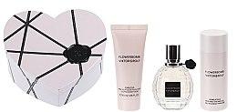 Düfte, Parfümerie und Kosmetik Viktor & Rolf Flowerbomb - Duftset (Eau de Parfum 40ml + Körperlotion 40ml + Duschgel 50ml)