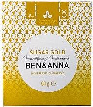 Düfte, Parfümerie und Kosmetik Zuckerpaste zur Haarentfernung - Ben & Anna Sugar Gold Hair Removal