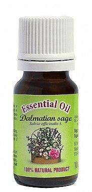 Ätherisches Bio Salbeiöl - Bulgarian Rose Dalmatian Sage Essential Oil — Bild N2