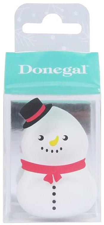Schminkschwamm 4339 weiß - Donegal Blending Sponge Snowman — Bild N1