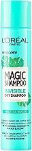 Düfte, Parfümerie und Kosmetik Trockenshampoo Vegetal Boost - L'Oreal Paris Magic Shampoo Invisible Dry Shampoo Vegetal Boost