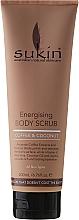 Düfte, Parfümerie und Kosmetik Energetisierendes Körperpeeling mit Kaffee und Kokosnuss - Sukin Energising Body Scrub With Coffee & Coconut