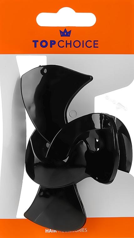 Haarklammer schwarz - Top Choice Hair Claw Clip 25563 — Bild N1