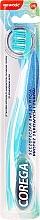 Düfte, Parfümerie und Kosmetik 2in1 Zahn- und Zahnprothesenbürste türkis-weiß - Corega