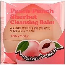 Düfte, Parfümerie und Kosmetik Gesichtsreinigungsbalsam mit Pfirsichsorbet - Tony Moly Peach Punch Sherbet Cleansing Balm