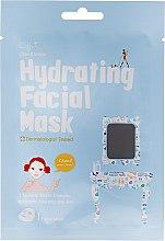 Düfte, Parfümerie und Kosmetik Feuchtigkeitsspendende Tuchmaske mit 3 Mineralwasserkomplexen - Cettua Hydrating Facial Mask