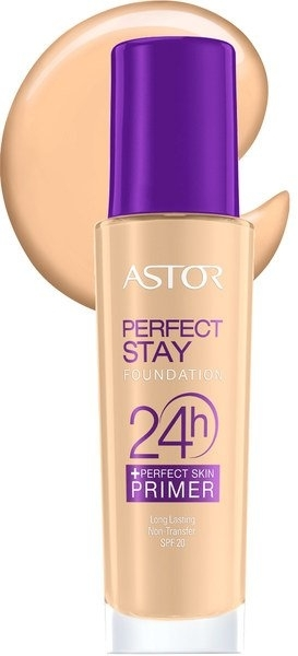 Langanhaltende Grundierung LSF 20 - Astor Perfect Stay Foundation 24h + Primer SPF20 — Bild N1
