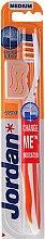 Düfte, Parfümerie und Kosmetik Zahnbürste mittel Advanced orange-weiß - Jordan Advanced Medium