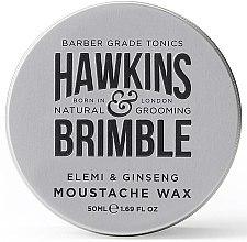 Schnurrbartwachs - Hawkins & Brimble Elemi & Ginseng Moustache Wax — Bild N1