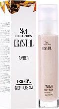 Düfte, Parfümerie und Kosmetik Essentielle Nachtcreme Bernstein - SM Collection Crystal Amber Night Cream