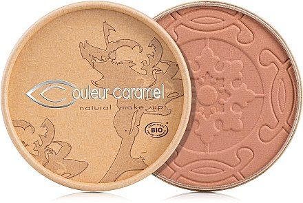 Bronzepuder mit Bio-Aprikosenkernöl und Bio-Kakaobutter gegen die ersten Fältchen - Couleur Caramel Cooked Powder — Bild N1