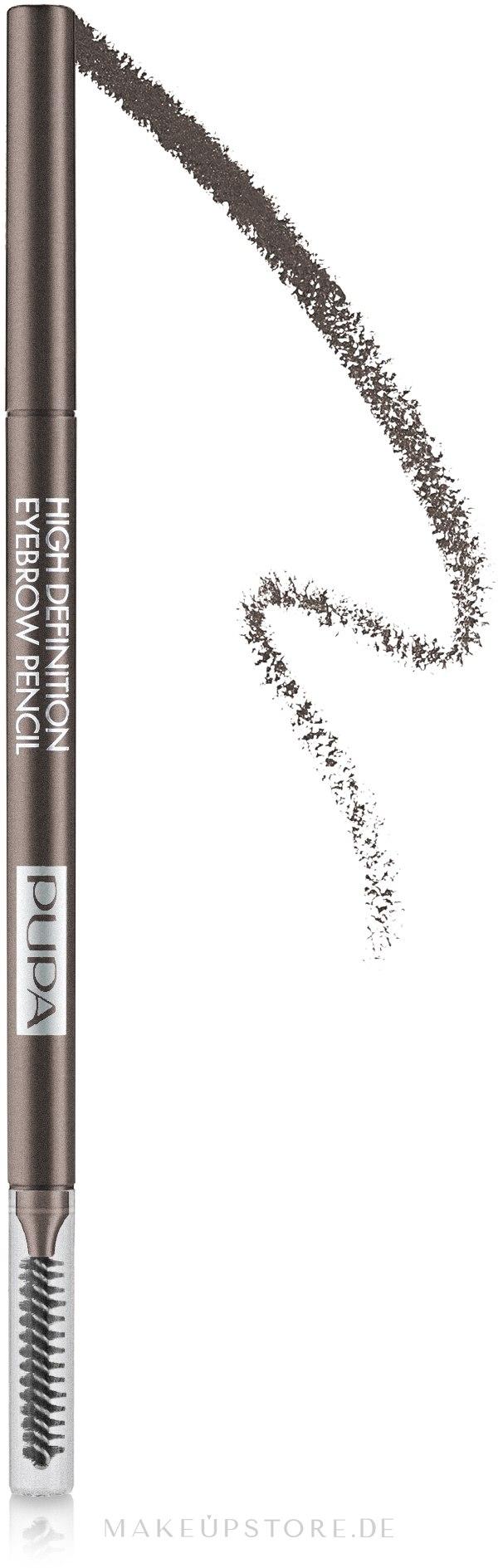 Augenbrauenstift - Pupa High Definition Eyebrow Pencil — Bild 002