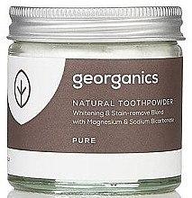 Düfte, Parfümerie und Kosmetik Zahnweiß-Pulver mit Magnesium - Georganics Pure Coconut Natural Toothpowder