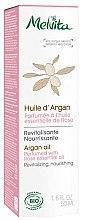 Düfte, Parfümerie und Kosmetik Bio Arganöl - Melvita Organic Nourishing Argan Oil Perfumed With Rose Essential Oil
