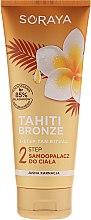 Düfte, Parfümerie und Kosmetik Bräunungslotion für helle Haut - Soraya Tahiti Bronze 2 Step Lotion for Light Skin