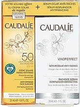 Düfte, Parfümerie und Kosmetik Gesichtspflegeset - Caudalie Vinoperfect Set (Gesichtsserum 30ml + Sonnenschutzcreme 25ml)