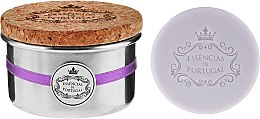 Düfte, Parfümerie und Kosmetik Naturseifen Lavender in Schmuck-Box - Essencias De Portugal Aluminum Jewel-Keeper Lavender Soap Tradition Collection