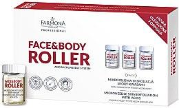 Düfte, Parfümerie und Kosmetik Anti-Aging Hautpeeling mit Säuren - Farmona Face&Body Roller