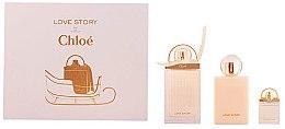 Düfte, Parfümerie und Kosmetik Chloe Love Story - Duftset (Eau de Parfum 75ml + Körperlotion 100ml + Eau de Parfum 7,5ml)