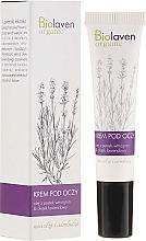 Düfte, Parfümerie und Kosmetik Augenkonturcreme mit Traubenkern- und Lavendelöl - Biolaven Eye Cream