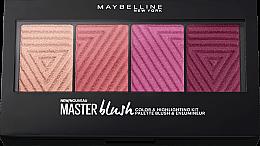 Rouge-Palette - Maybelline Rouge Palette Master Blush Palette — Bild N1