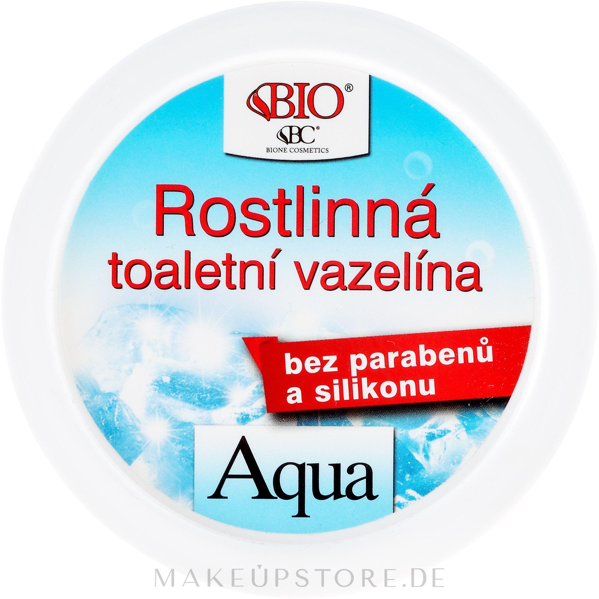 Vaseline mit Algenextrakt für die Körperpflege - Bione Cosmetics Dead Sea Minerals Plant Vaseline With Seaweed Extract — Bild 150 ml