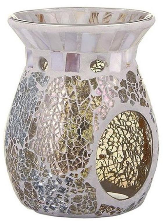 Aromalampe - Yankee Candle Gold & Pearl Crackle Wax Melt Warmer — Bild N1