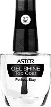 Düfte, Parfümerie und Kosmetik Glänzender Überlack mit 3D Gel-Effekt - Astor 3D Gel Shine Top coat