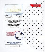 Düfte, Parfümerie und Kosmetik Feuchtigkeitsspendende mikromagnetische Gesichtsmaske mit Hyaluronsäure - Collistar Pure Actives Micromagnetic Mask Hyaluronic Acid