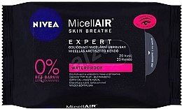 Düfte, Parfümerie und Kosmetik Make-up-Entfernungstücher mit Mizellen-Technologie 20 St. - Nivea MicellAIR Expert Micellar Makeup