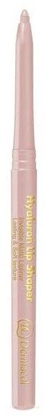 Transparenter Lippenkonturenstift - Dermacol Hyaluron Lip Shaper — Bild Transparent