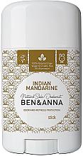 Düfte, Parfümerie und Kosmetik Natürlicher Soda Deostick Indian Mandarine - Ben & Anna Natural Soda Deodorant Indian Mandarine