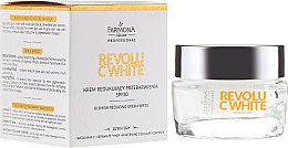 Düfte, Parfümerie und Kosmetik Regenerierende Gesichtscreme - Farmona Professional Revolu C White Blemish Reducing Cream SPF30